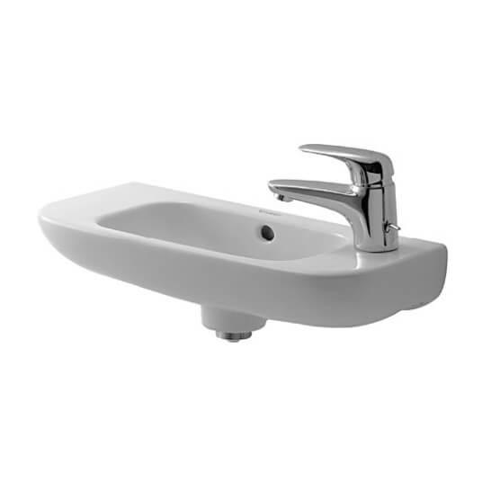 07065.92 070640 & 070650 Duravit D-Code Handrinse Basin 500mm Lh 1th - Rh 1th_ - Copy