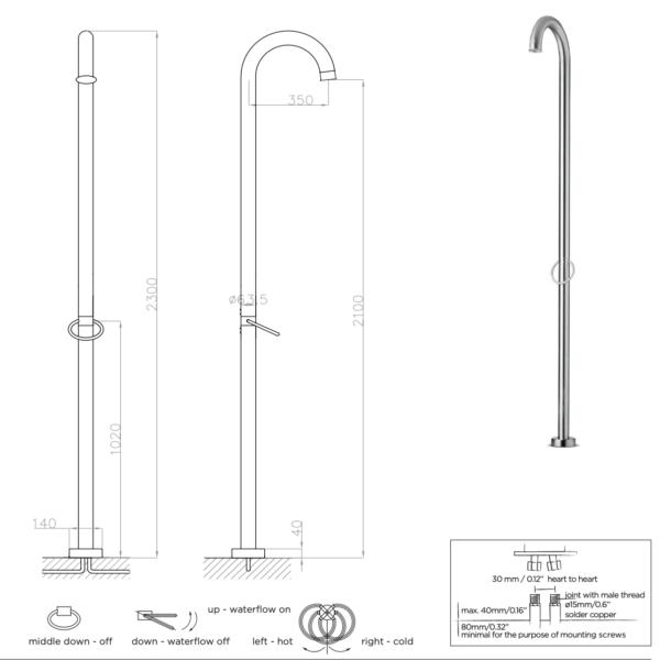 Dado Original 01 Shower Column Pol_Stiles Image