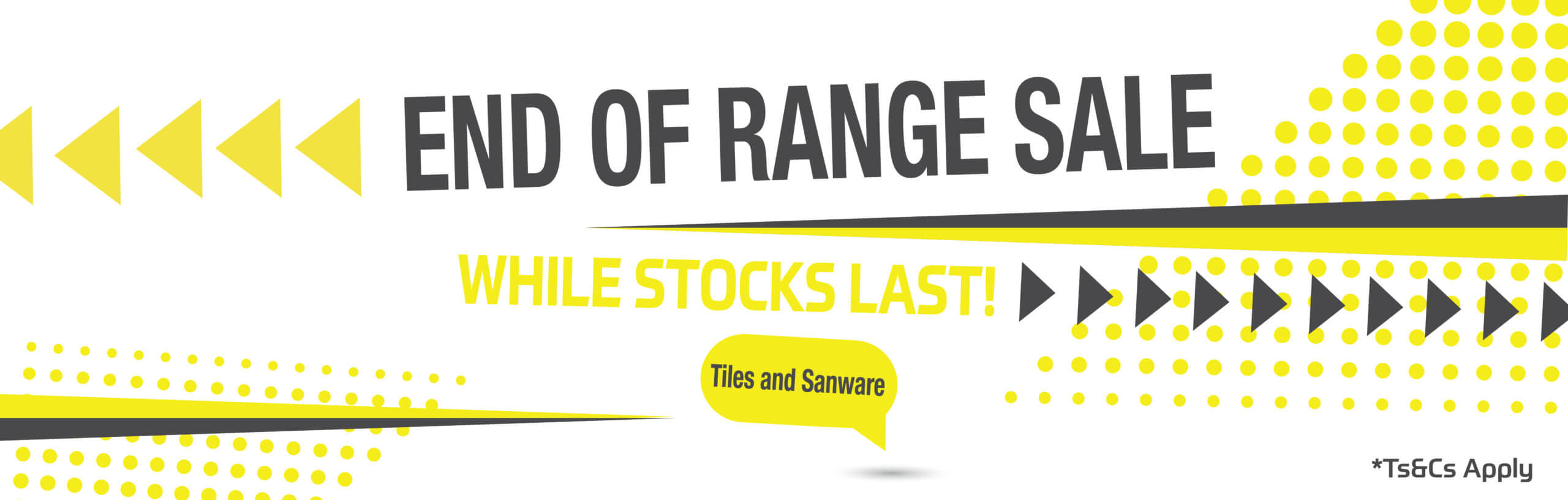 Stiles End Of Range Sale
