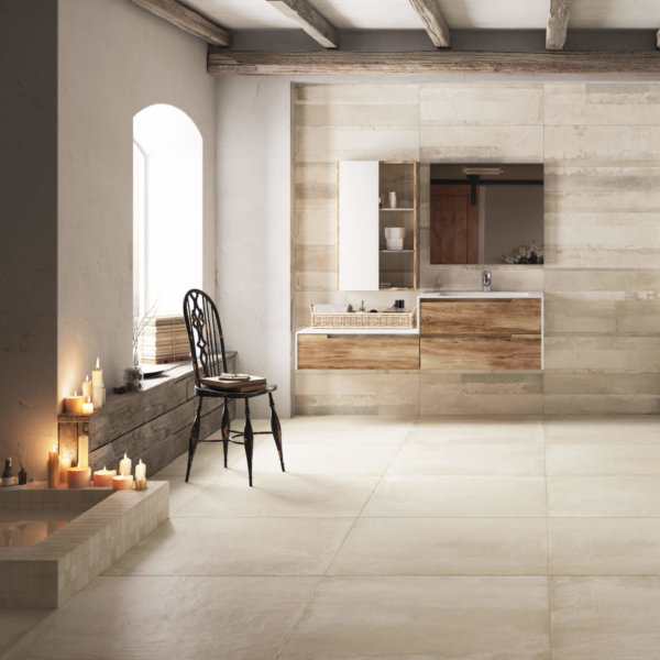 Terre Avorio Natural Rett 600x600mm_Stiles_Lifestyle_Image
