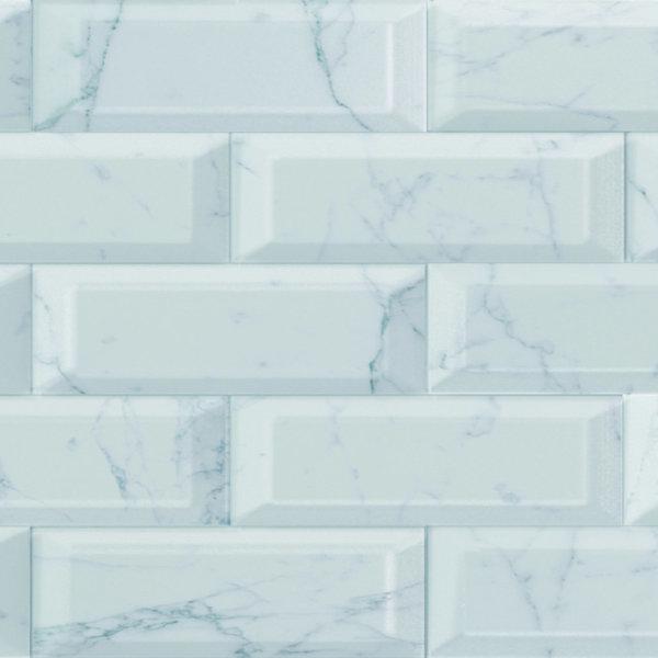CRS Carrara Biselado Brillo 100x300mm_Stiles_Product_Image