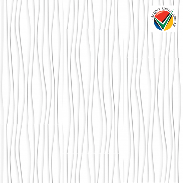 Ceramic Industries Onda Bianco 300x600mm_product