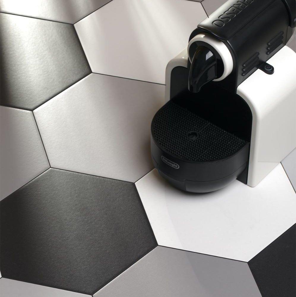 Codicer Hexagon Basic Black Porcelain 220x250mm_Stiles_Lifestyle3_Image