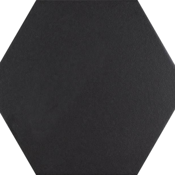 Codicer Hexagon Basic Black Porcelain 220x250mm_Stiles_Product_Image