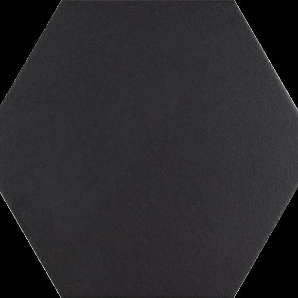 Codicer Hexagon Basic Black Porcelain 220x250mm_Stiles_Product_Image