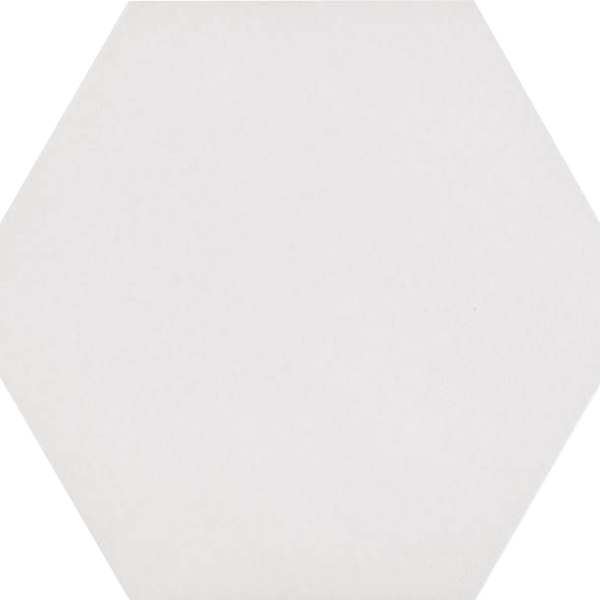 Codicer Hexagon Basic White Porcelain 220x250mm_Stiles_Product_Image