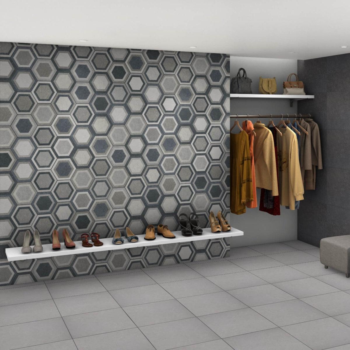 Codicer Hexagon Traffic Combi Grey 220x250mm_Stiles_Lifestyle2_Image