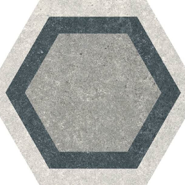 Codicer Hexagon Traffic Combi Grey 220x250mm_Stiles_Product_Image