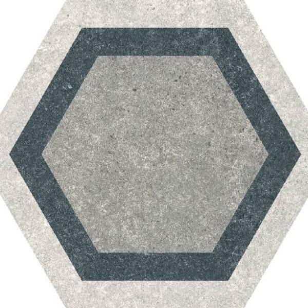 Codicer Hexagon Traffic Combi Grey 220x250mm_Stiles_Product_Image