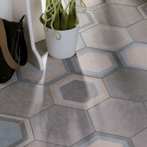 Codicer Hexagon Traffic Grey 220x250mm_Stiles_Lifestyle_Image