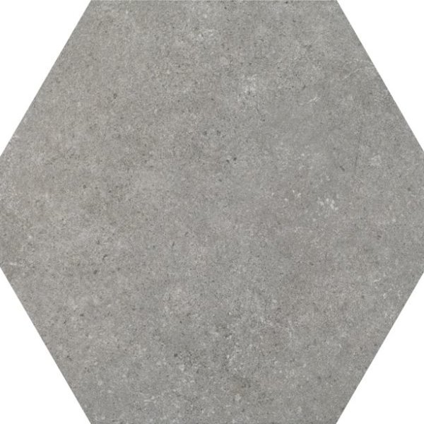 Codicer Hexagon Traffic Grey 220x250mm_Stiles_Product_Image