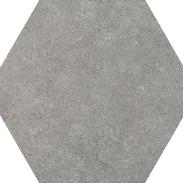 Codicer Hexagon Traffic Grey 220x250mm_Stiles_Product_Image