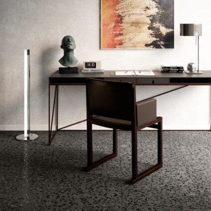 Coem Terrazzo Bucchero Maxi Rett 600x600mm_Stiles_Lifestyle_Image