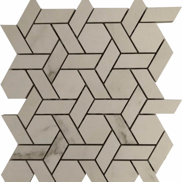 DJ Carrara Framed Hex 265x308mm_Stiles_Product_Image