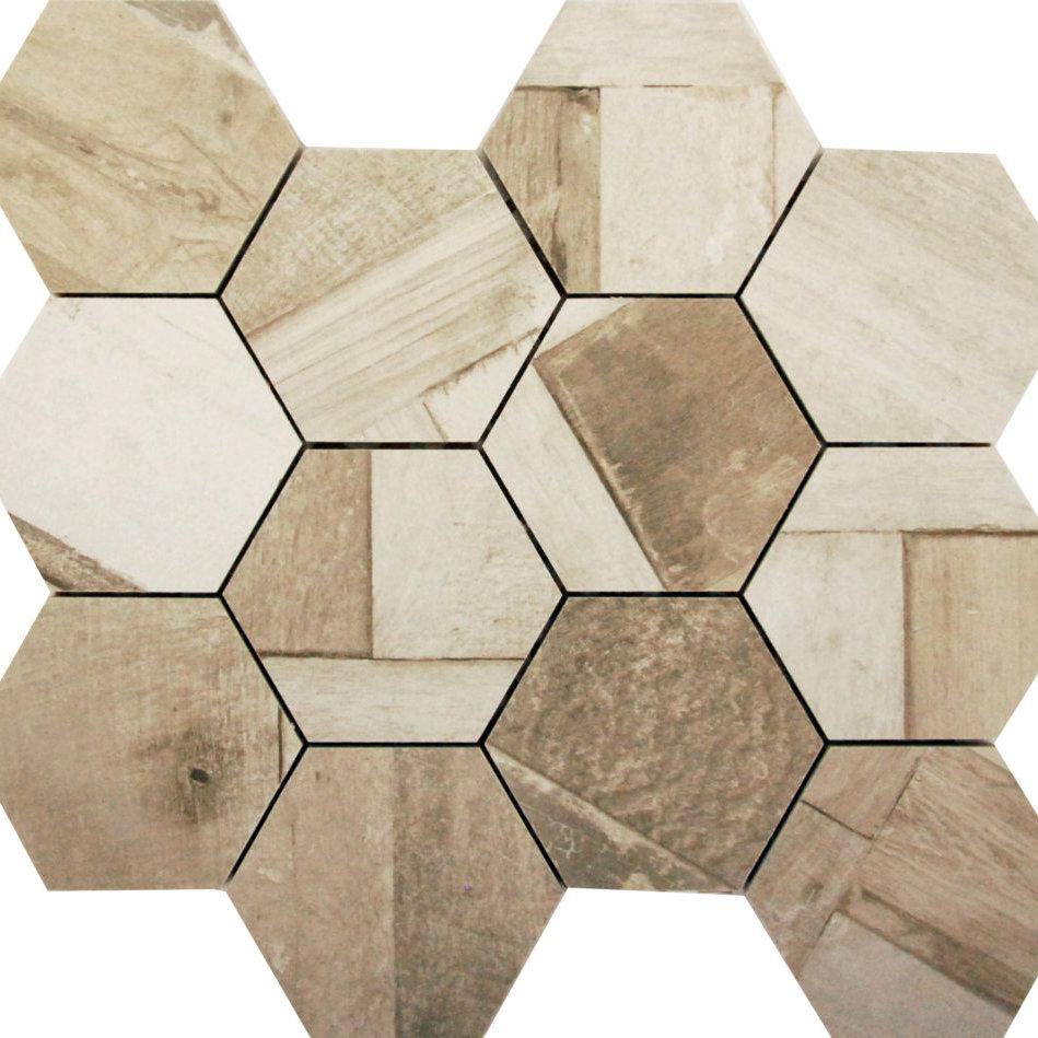 DJ Doors Bergamo Hexagon 265x308mm_Stiles_Product_Image