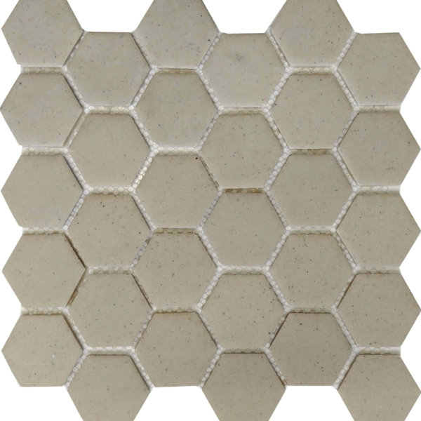 DJ Resin Hexagon Beige 275x280mm_Stiles_Product_Image
