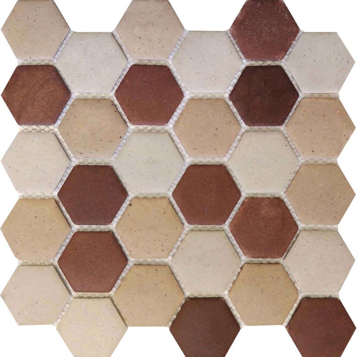DJ Resin Hexagon Tuscon Mix 275x280mm_Stiles_Product_Image