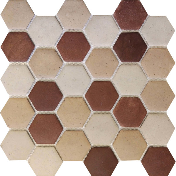 DJ Resin Hexagon Tuscon Mix 275x280mm_Stiles_Product_Image
