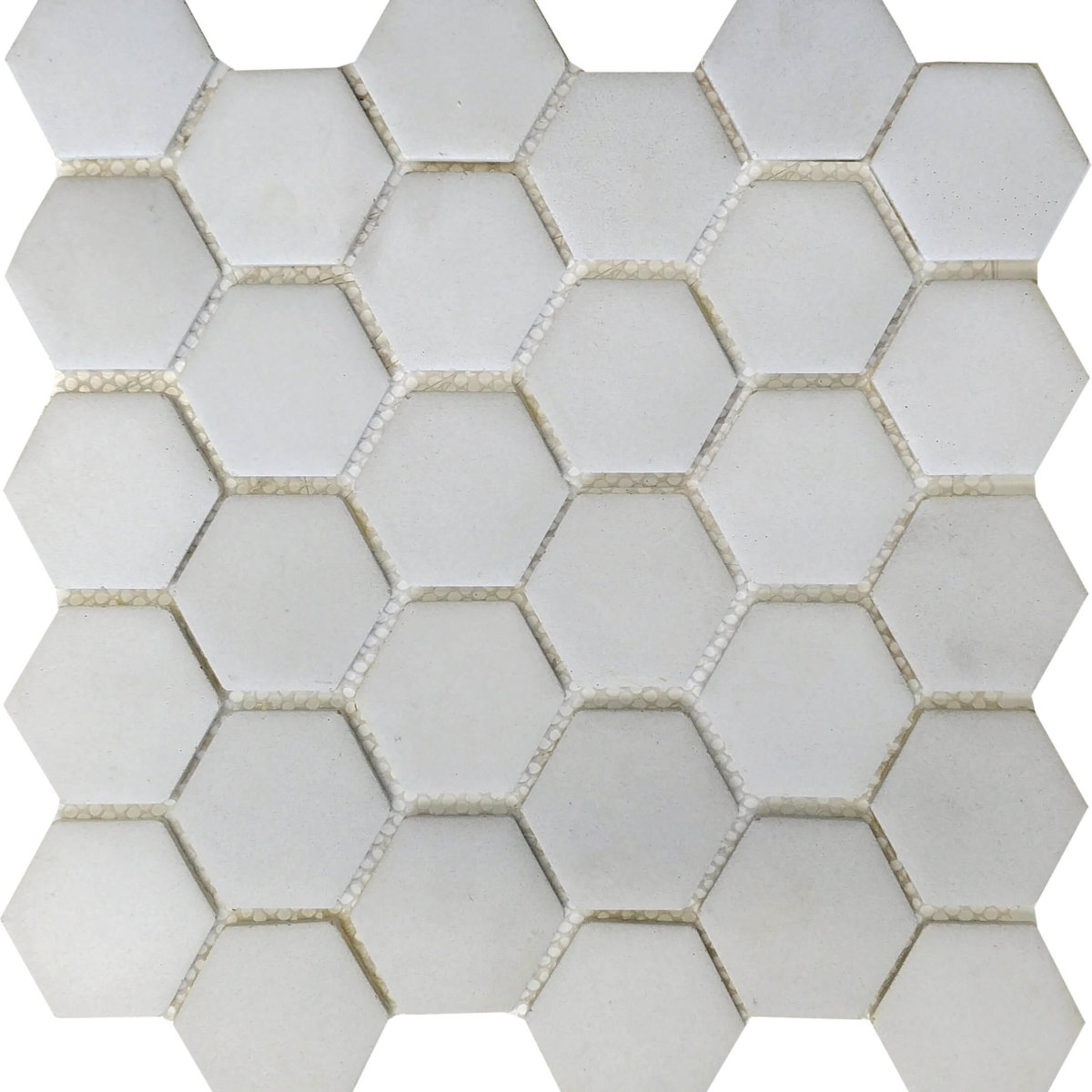 DJ Resin Hexagon White 275x280mm_Stiles_Product_Image