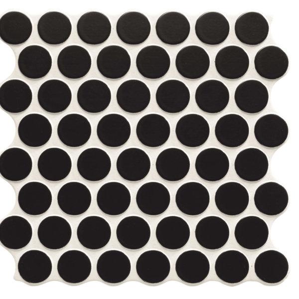 Realonda Circle Black 309x309mm_Stiles_Product_Image