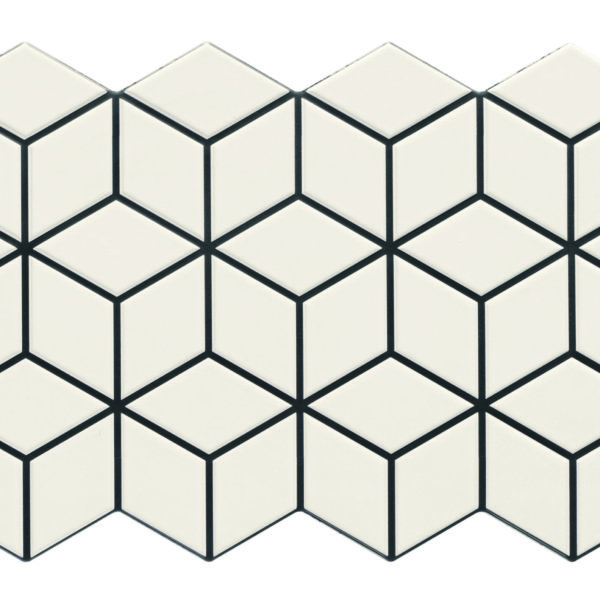 Realonda Rhombus Snow 265x510mm_Stiles_Product_Image