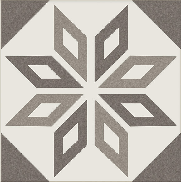 CRS Antigua Decoro Gris 200x200mm_Stiles_Product4_Image