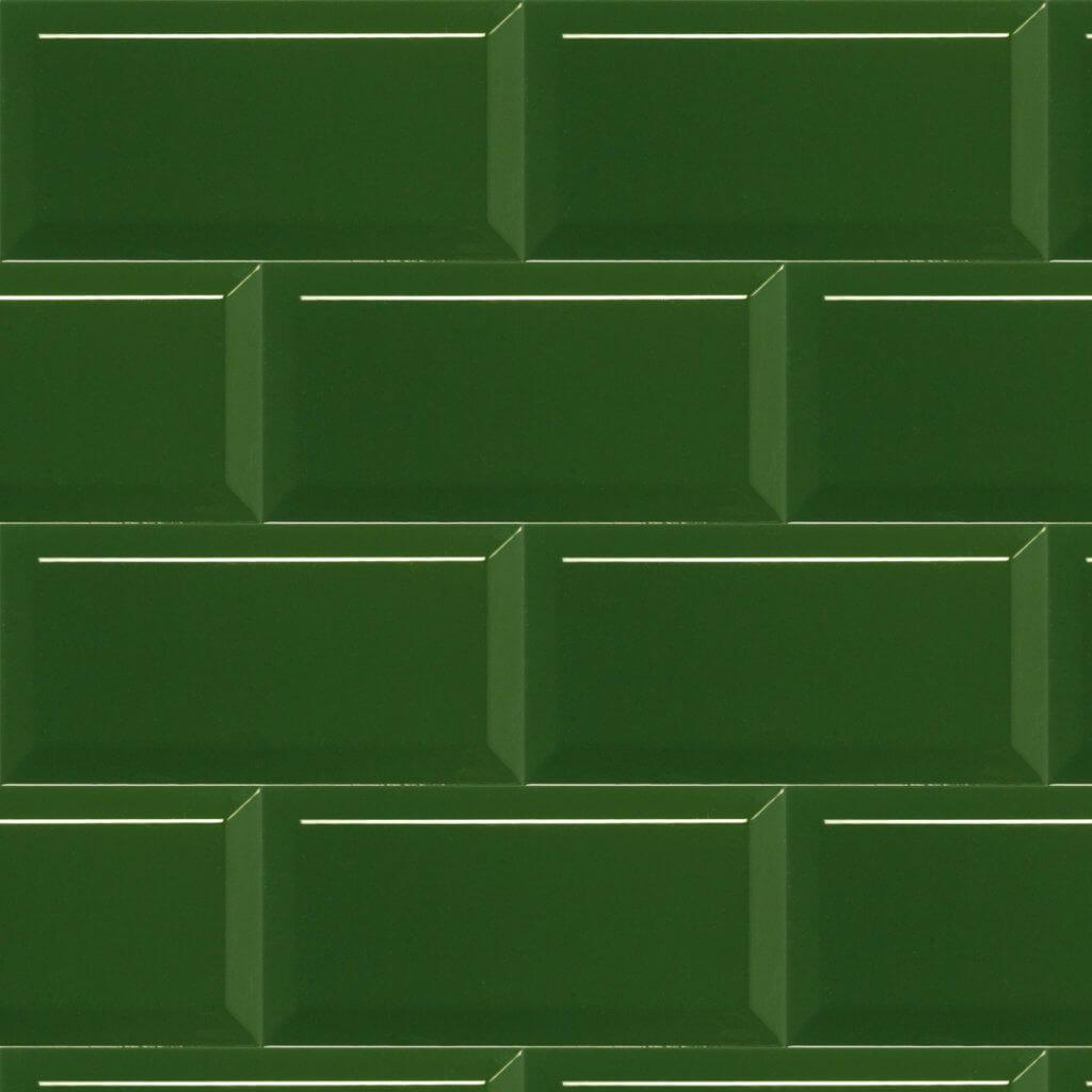 CRS Verde Botella Biselado Brillo 100x200mm_Stiles_Product2_Image