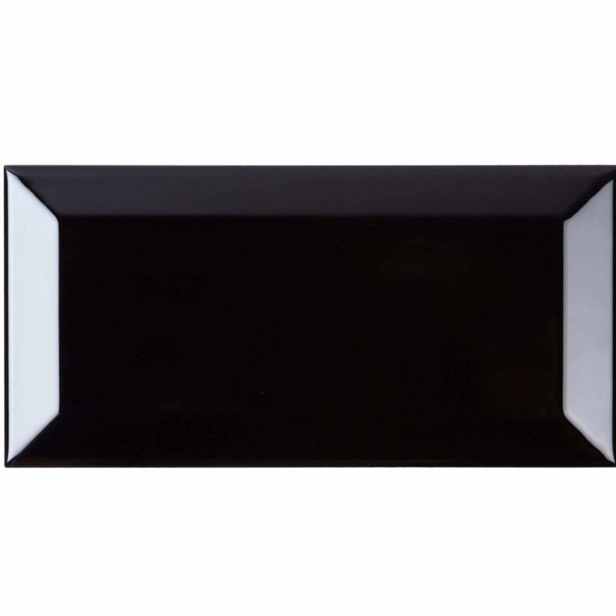 CRS Black Biselado Brillo 100x200mm_Stiles_Product_Image