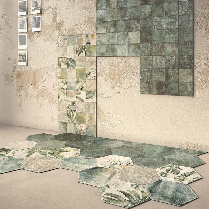 Decobella Ethnic Emerald 138x138mm_Stiles_Lifestyle_Image