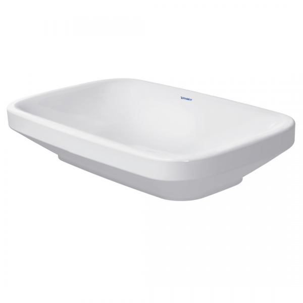 D DuraStyle Grounded Counter Top Basin 600x380mm_Stiles_Product_Image