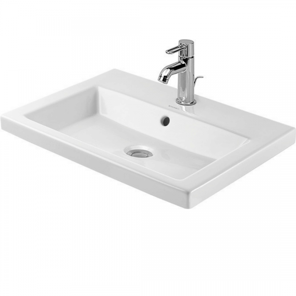 Duravit 2nd Floor Drop-in Basin 600x430mm_Stiles_Product_Image