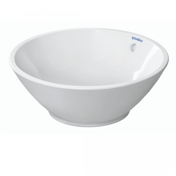 Duravit Bacino Round Grounded Counter Top Basin 420x420mm_Stiles_Product_Image