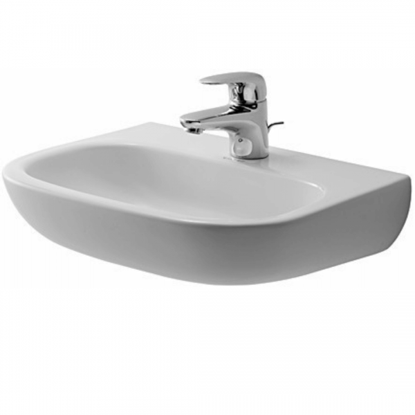 Duravit D-code Barrier Free Basin 450x340mm_Stiles_Product_Image1