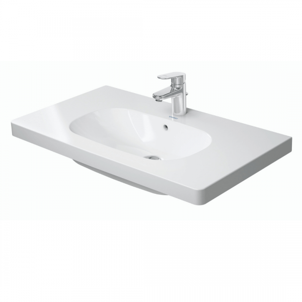 Duravit D-code Basin 850x480mm_Stiles_Product_Image1