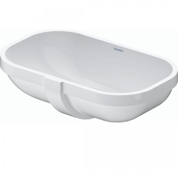 Duravit D-code Undercounter Basin 495x290mm_Stiles_Product_Image1