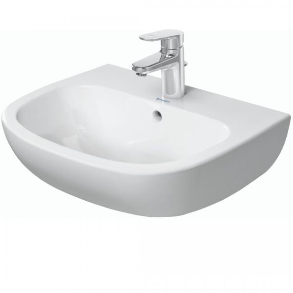 Duravit D-code WM Basin 550x430mm_Stiles_Product_Image1