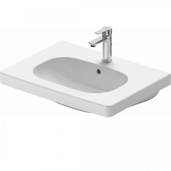 Duravit D-code WM Basin 650x480mm_Stiles_Product_Image1
