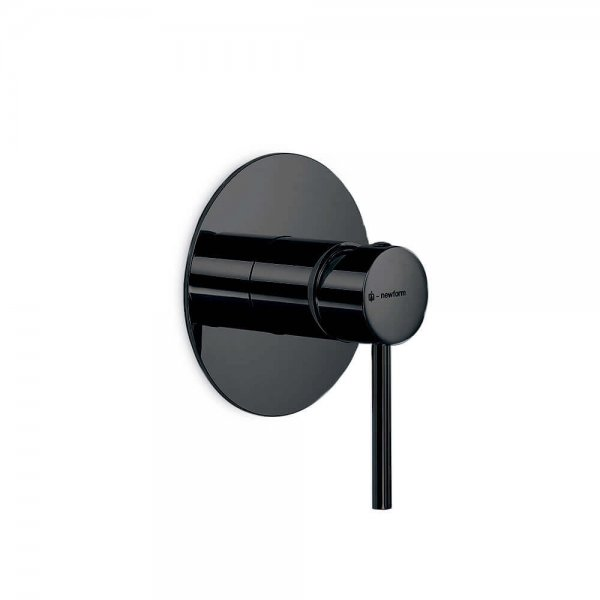 4275EO Newform XT Mini X Matt Black Shower Mixer_Stiles_Product_Image