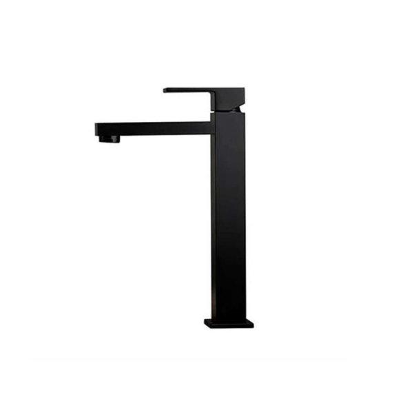 66415B N Ergo Q Tall Matt Black Basin Mixer_Stiles_Product_Image