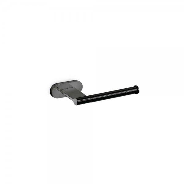 672331 Newform Linfa-Orama Matt Black Toilet Paper Holder_Stiles_Product_Image