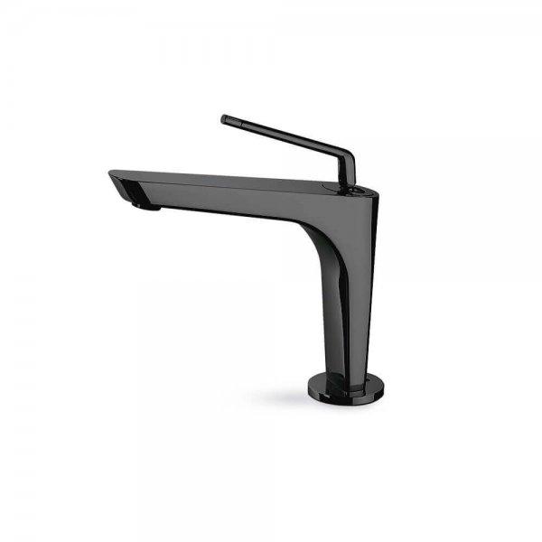 68412 Newform ORama Matt Black Basin Mixer_Stiles_Product_Image