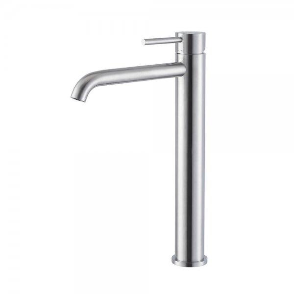 69615X Newform X-Steel 316 Tall SS Basin Mixer_Stiles_Product_Image