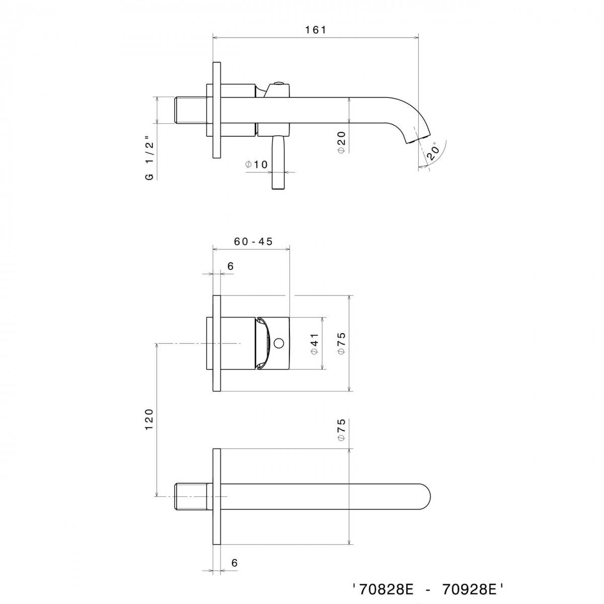 70828E_N Blink Basin Set (2 piece)_Stiles_TechDrawing_Image