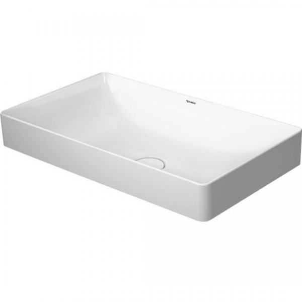D DuraSquare Grounded Counter Top Basin 600x345mm_Stiles_Product_Image