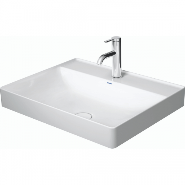 D DuraSquare Grounded Counter Top Basin 600x470mm_Stiles_Product_Image