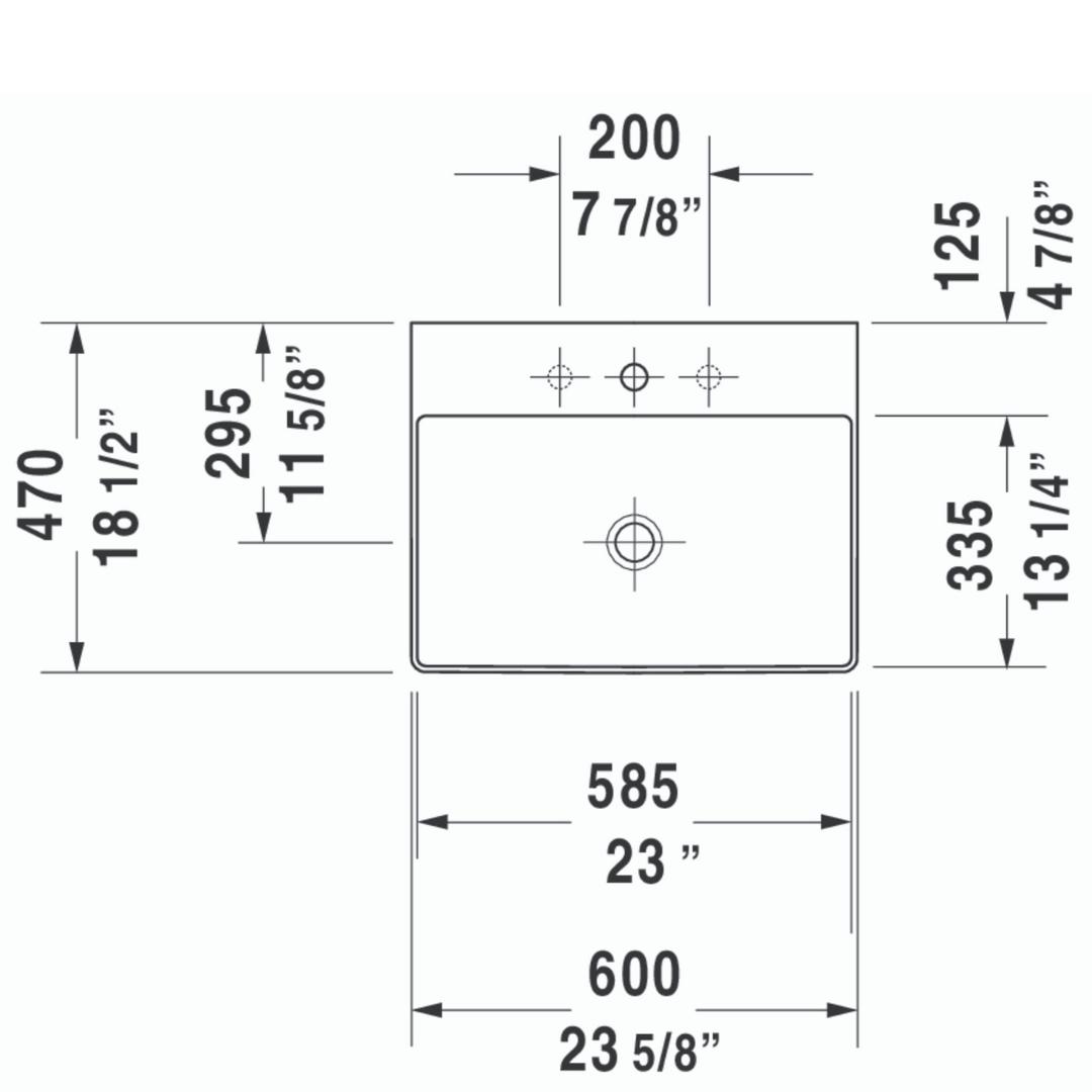 D DuraSquare WM Basin 600x470mm_Stiles_TechDrawing_Image5