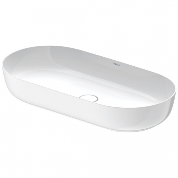 D Luv White Counter Top Basin No TH 800x400mm_Stiles_Product_Image