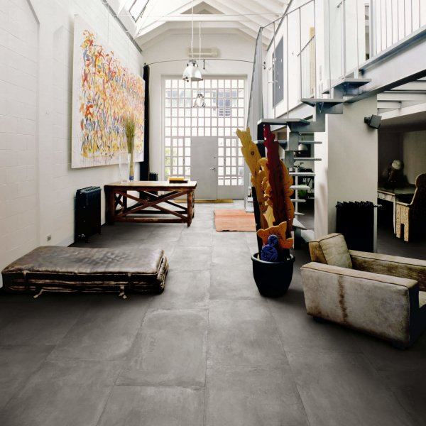 Florim Beton One Ash 600x600mm_Stiles_Lifestyle_Image