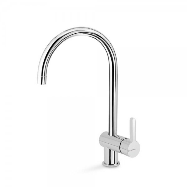 65921 Newform Ergo Sink Mixer with round spout_Stiles_Product_Image