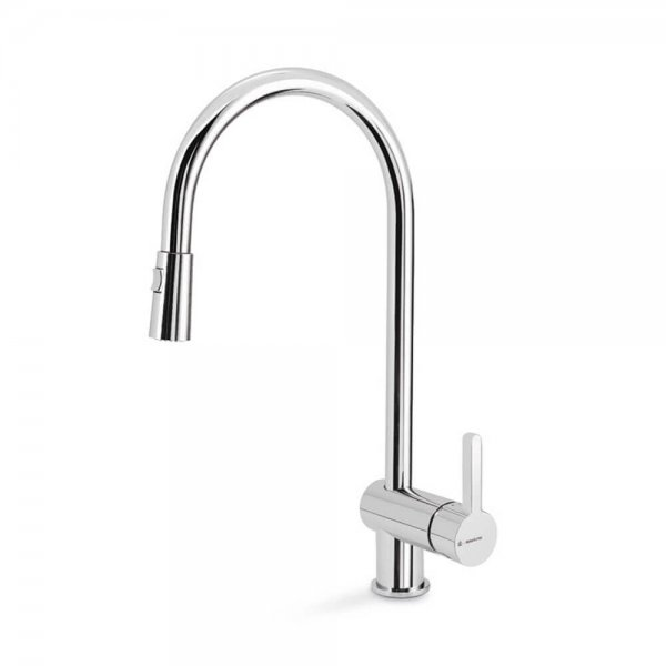 65925 Newform Ergo Double Jet Sink Mixer (with pull out swivel spout)_Stiles_Product_Image